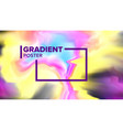gradient fluid background minimal vector image