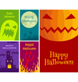 halloween cards vector image vector image