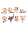 Piggies vector image vector image
