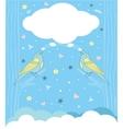 song bird vector image vector image
