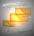 Transparent frames as abstract shapes shining on vector image