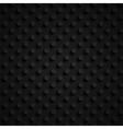 dark 3d paper pattern vector image