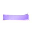 A topview of a lavender colored paper post-it vector image vector image
