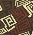 ancient seamless texture with grunge effect vector image