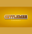 cattleman cattle man western style word text logo