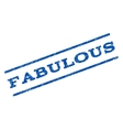Fabulous Watermark Stamp vector image vector image