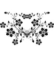 floral background vector vector image vector image