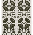 Flower Decoration Pattern 3 vector image vector image