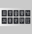 hand drawn typography poster conceptual vector image