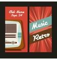 Radio icon Retro and Music design graphic vector image vector image