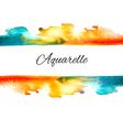 Watercolor Splash Sale vector image