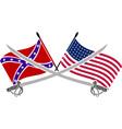 American civil war vector image