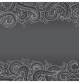 Background with doddle pattern vector image
