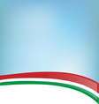 background with Italian flag vector image vector image