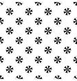 Beach umbrella pattern simple style vector image