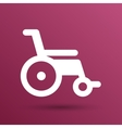 disabled icon sign wheelchair handicap vector image