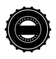 emblem or label icon image vector image vector image