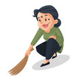 house maid vector image