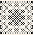 monochrome geometric halftone pattern with circles vector image vector image