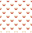 Red carpet pattern cartoon style vector image vector image