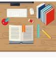 School Books Design vector image