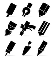 tools for drawing vector image vector image