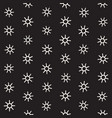 seamless sunburst shapes freehand pattern