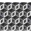 3d cubes pattern vector image vector image