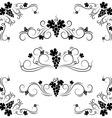 grape design elements vector image vector image