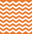 halloween orange chevron seamless pattern vector image