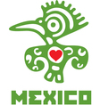 I Love Mexico Template Design vector image vector image