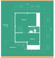 Plan vector image vector image