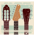 retro music festival poster isolated icon design vector image vector image