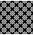 tile black and white pattern seamless wallpaper vector image