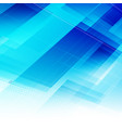 abstract blue light background with polygonal vector image vector image