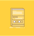 browser dynamic internet page responsive flat vector image vector image