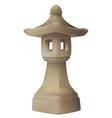 Japanese garden lantern garden lamp vector image vector image