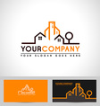 realestate outline vector image