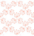 seamless background of the contours of a maple vector image vector image