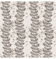 seamless pattern of vines and leaves vector image vector image