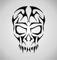 Tribal Skull Face vector image vector image
