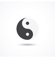 Ying yang icon vector image vector image