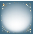 Silver winter abstract background Christmas vector image