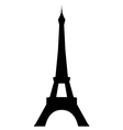 eiffel tower in paris vector image vector image