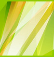 green orange summer shiny stripes background vector image vector image