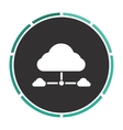 IT cloud computer symbol vector image vector image