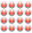 party button vector image vector image