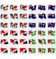 Seychelles Saint Helena Sealand Principality vector image vector image