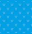 sign medicine pattern seamless blue vector image vector image