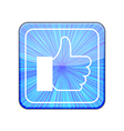 version Like icon Eps 10 vector image vector image